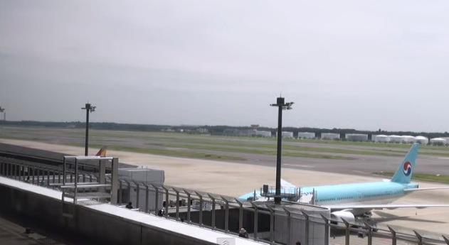成田空港ライブカメラ(南方向)[USTREAM]