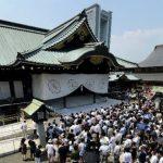 靖国神社の360度パノラマカメラ