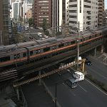 JR中央線と靖国通りライブカメラ