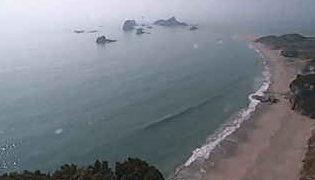 種子島灯台から見えるライブカメラと雨雲レーダー/鹿児島県種子島