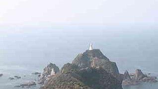 佐多岬灯台から見えるライブカメラと雨雲レーダー/鹿児島県大隅半島