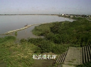 新潟県新潟市 松浜橋付近ライブカメラと雨雲レーダー