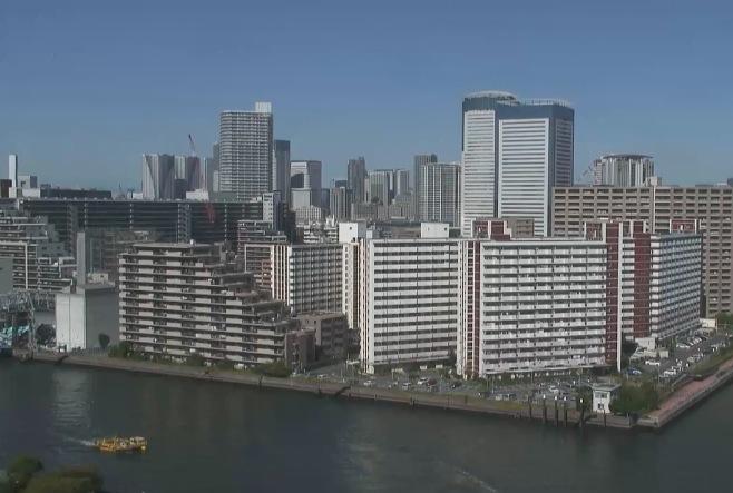 東京運河交差点ライブカメラ