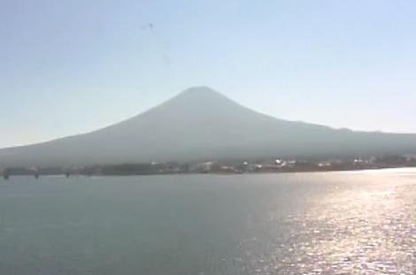 温泉宿『秀峰閣湖月』から見える富士山ライブカメラ