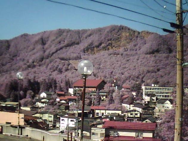 蔵王温泉街風景ライブカメラ