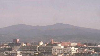 弘前公園、岩木山、八甲田山ライブカメラと雨雲レーダー/青森県弘前市