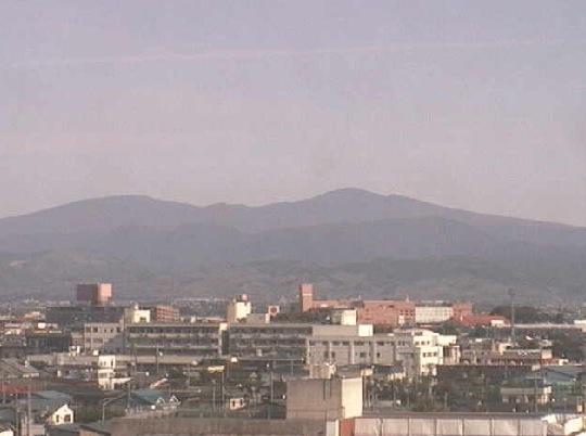 弘前公園、岩木山、八甲田山ライブカメラ
