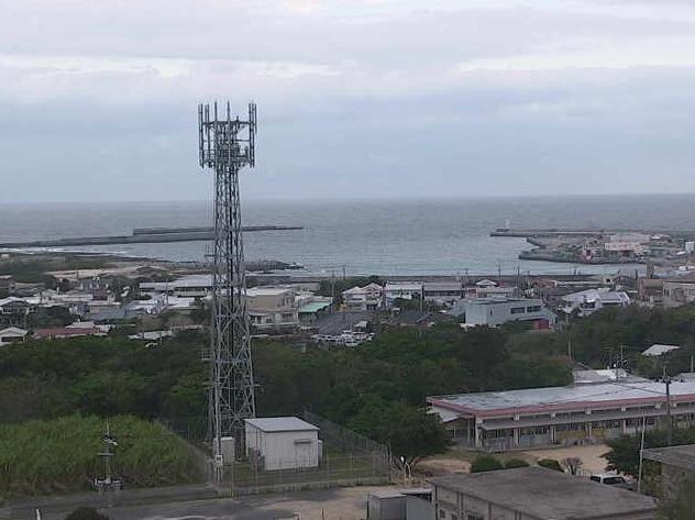 喜界島の町並みライブカメラ