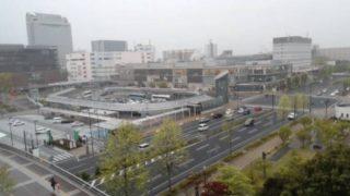 つくば駅前ライブカメラと雨雲レーダー/茨城県つくば市