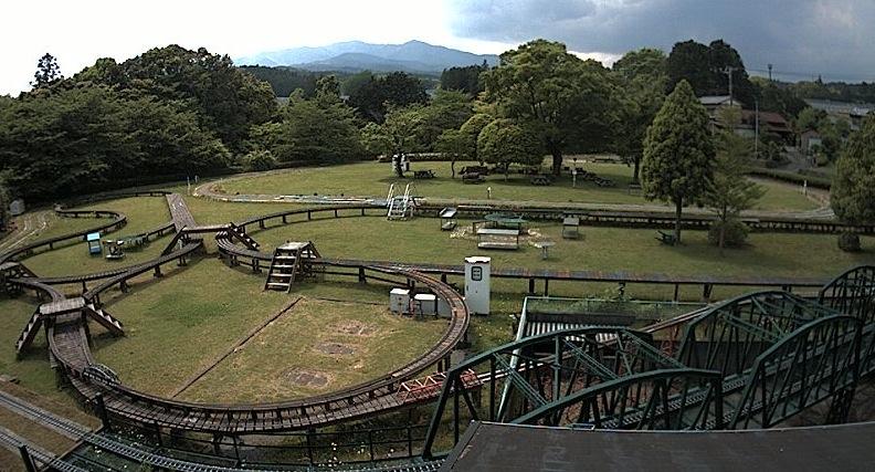 日本庭園鉄道や富士山ライブカメラと雨雲レーダー/静岡県裾野市