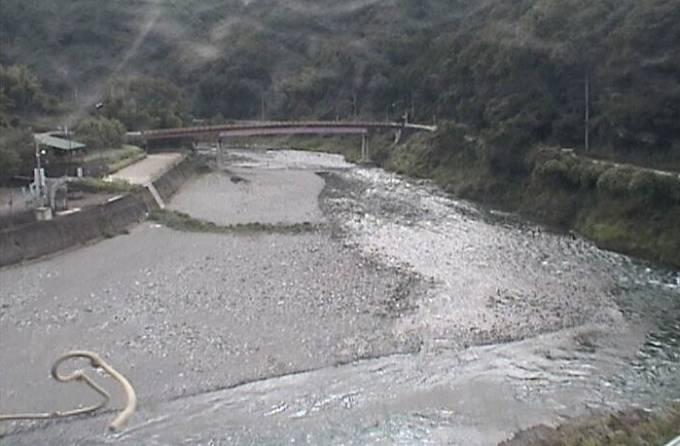 穴吹川・天神の瀬ライブカメラと雨雲レーダー/徳島県美馬市