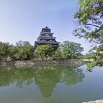 城好きにおすすめ!広島城が見れるストリートビュー