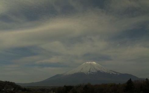 山中湖花の都公園 富士山ライブカメラ