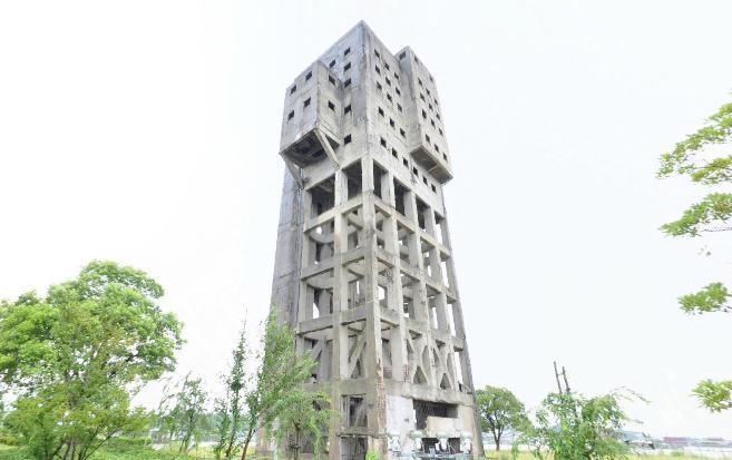 竪坑櫓[外観]の360度パノラマカメラ