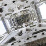 竪坑櫓[内観]の360度パノラマカメラ