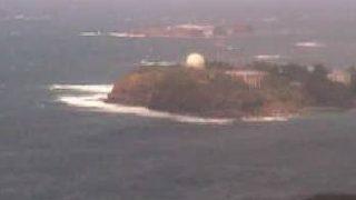 対馬北方海域の映像がみえるライブカメラと雨雲レーダー/長崎県対馬市