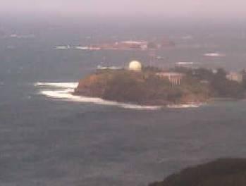 対馬北方海域の映像がみえるライブカメラ