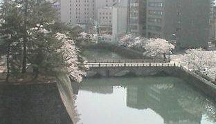 福井城跡ライブカメラと雨雲レーダー/福井県福井市
