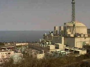 停止中:高速増殖原型炉もんじゅライブカメラと雨雲レーダー/福井県敦賀市