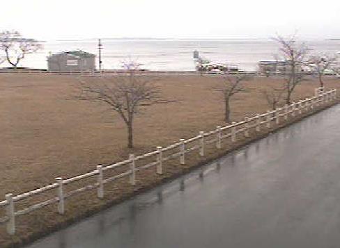 停止中:小川原湖 ライブカメラと雨雲レーダー/青森県三沢市