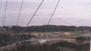 停止中:夕陽海岸深浦ライブカメラと雨雲レーダー/青森県深浦町