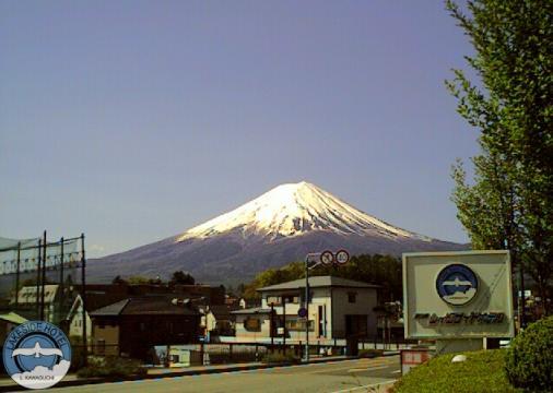 レイクサイドホテル 富士山ライブカメラと雨雲レーダー/山梨県富士河口湖町