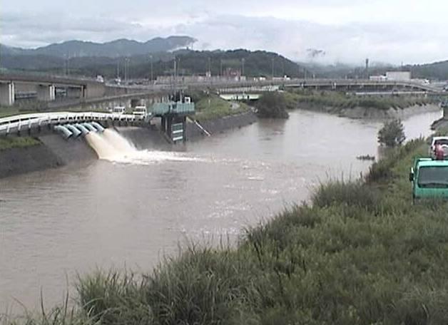 鳥取県 蒲生川、塩見川、大路川、八東川、日置川、由良川、旧加茂川、佐陀川ライブカメラと雨雲レーダー