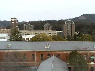停止中:京都大学吉田キャンパスライブカメラと雨雲レーダー/京都府京都市