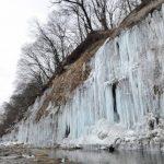 白川氷柱群360度パノラマカメラ