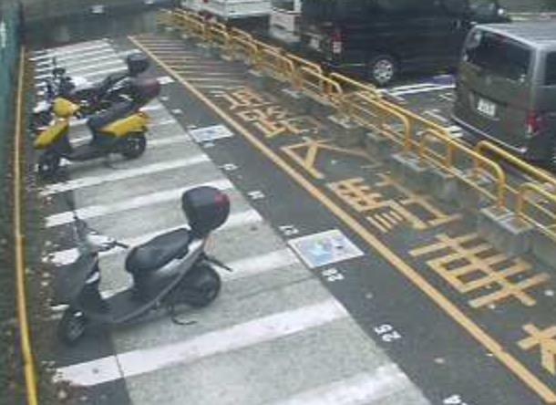 オートバイ専用駐車場ライブカメラ(9ヶ所)と雨雲レーダー/東京都