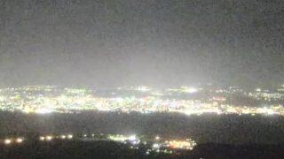 湯之平展望所からの街の様子 ライブカメラと雨雲レーダー/鹿児島県鹿児島市