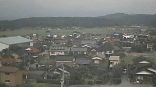 天萬庁舎ライブカメラと雨雲レーダー/鳥取県南部町