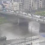 白川と国道3号・長六橋ライブカメラ