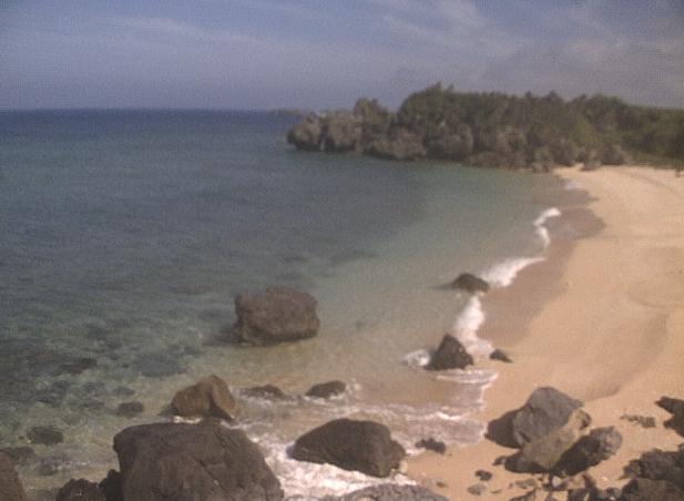 与論島からみえる沖縄本島ライブカメラ