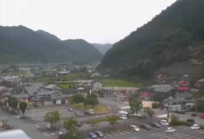 日南町総合文化センターライブカメラと雨雲レーダー/鳥取県日南町