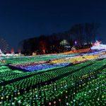 東京ドイツ村のイルミネーション360度パノラマカメラ