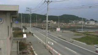 停止中:志津川周辺の復興状況ライブカメラと雨雲レーダー/宮城県南三陸町