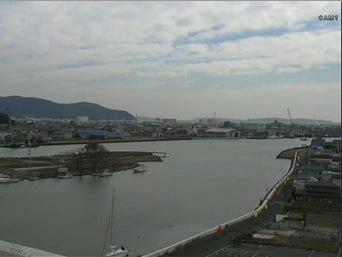 石巻市北上川河口周辺の復興状況ライブカメラ