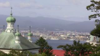 元町教会郡・函館市街地・駒ケ岳などライブカメラと雨雲レーダー/北海道函館市