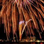 諏訪湖の花火の様子が見れる360度パノラマカメラ