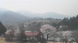 ゆーゆうランド花椿の周辺ライブカメラと雨雲レーダー/富山県南砺市