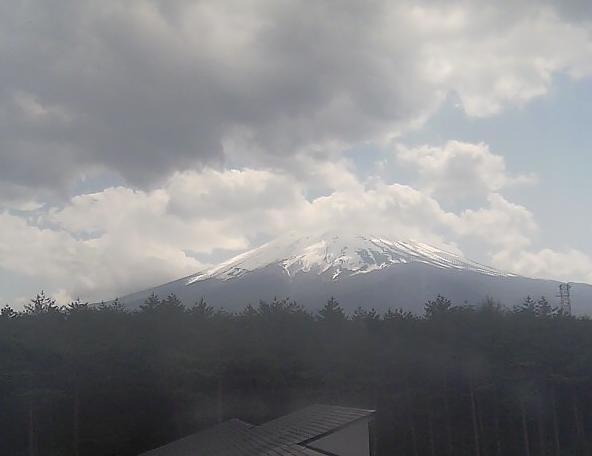 生物多様性センター 富士山ライブカメラと雨雲レーダー/山梨県富士吉田市