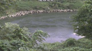 阿賀野川 ライブカメラ(滝坂地区)と雨雲レーダー/福島県西会津町