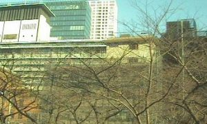 停止中:アークヒルズライブカメラと雨雲レーダー/東京都港区