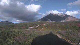 旭岳 ライブカメラ(大雪山連峰)と雨雲レーダー/北海道東川町