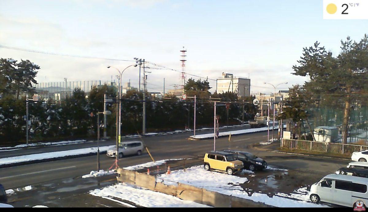 中央橋通 ライブカメラと雨雲レーダー/北海道旭川市