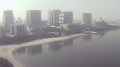 お台場海浜公園ライブカメラと雨雲レーダー/東京都港区