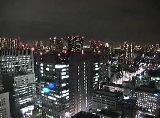 停止中:京都大学東京オフィスライブカメラと雨雲レーダー/京都府港区