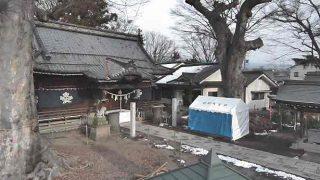 長野県上田市 科野大宮社ライブカメラと雨雲レーダー