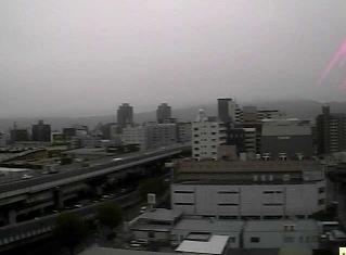 東大阪と阪神高速道路東大阪線ライブカメラと雨雲レーダー/大阪府東大阪市